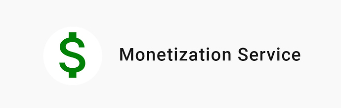 MonetizationService