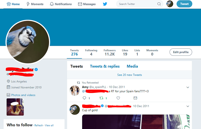 verified profile