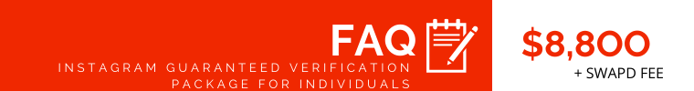 FAQ Instagram Verification for Individuals